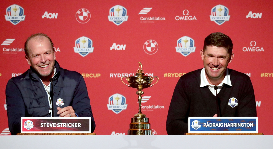 World Worst Presser:  Ryder Cup Captains And It's A Year Away