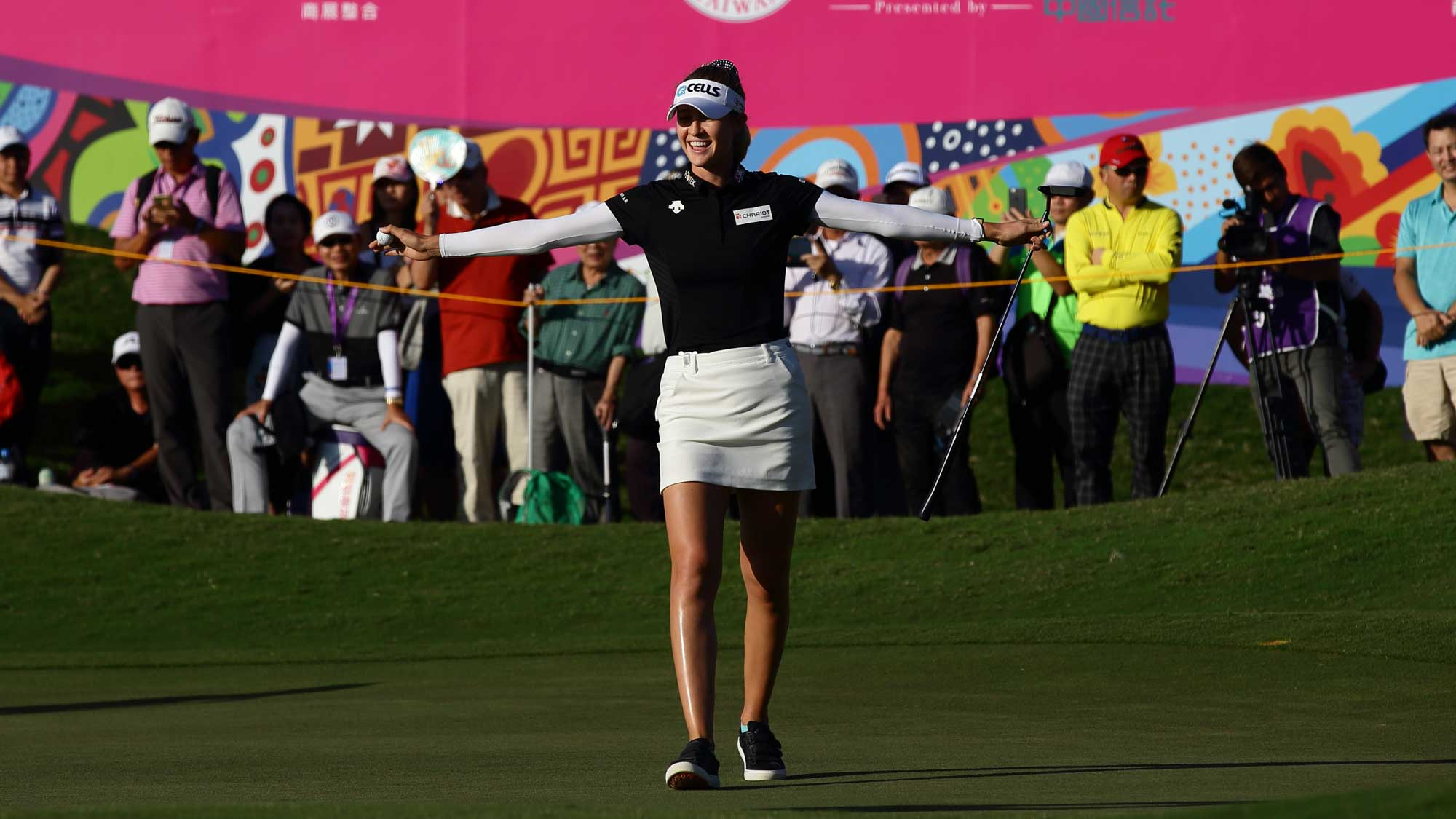 Nelly Korda Survives A Rocky Final Nine In Taiwan
