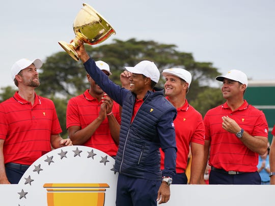 Tiger Woods Showed Everyone How To Lead From The Front