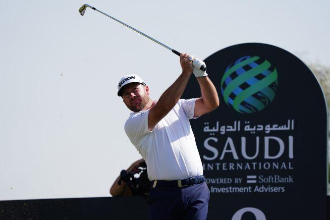 G-Mac Battles Into Lead At Saudi International