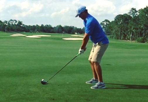 Brooks Koepka Shows Off HIs Amazing Left-Handed Swing
