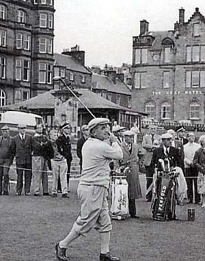 A Golf Classic (Sarazen vs. Cotton) For Golfers Stuck At Home
