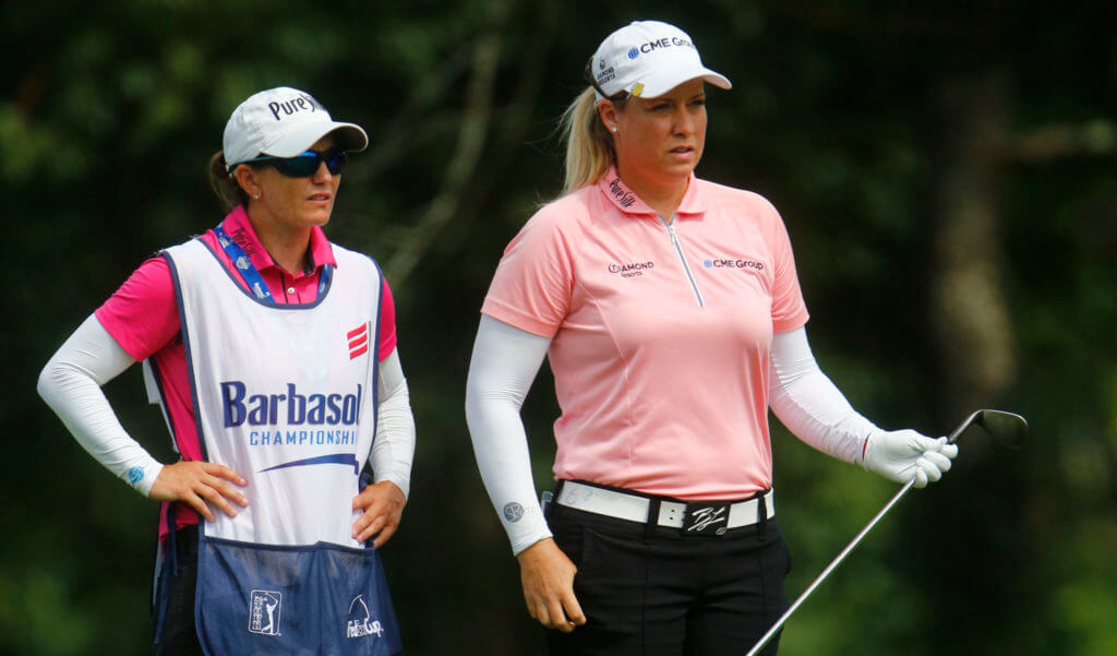 Brittany Lincicome's Caddie Recovering From Battle With Corona Virus