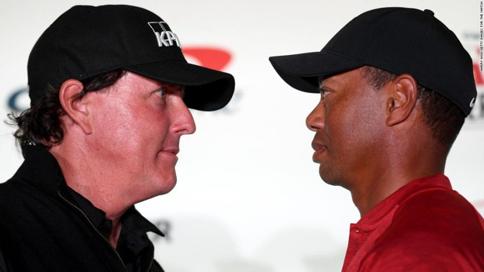 Tiger And Phil Have A Date (May 24) And A Place -- The Medalist