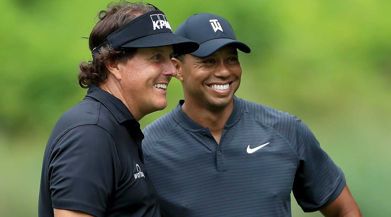PGA Tour Gives Go-Ahead For Woods And Mickelson
