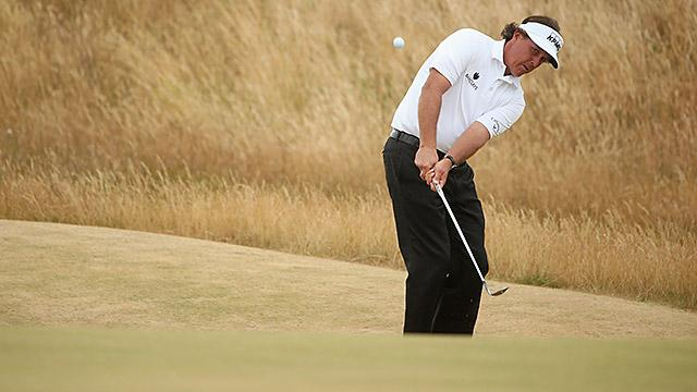 Phil Mickelson Gives Us His Keys To Better Chip Shots