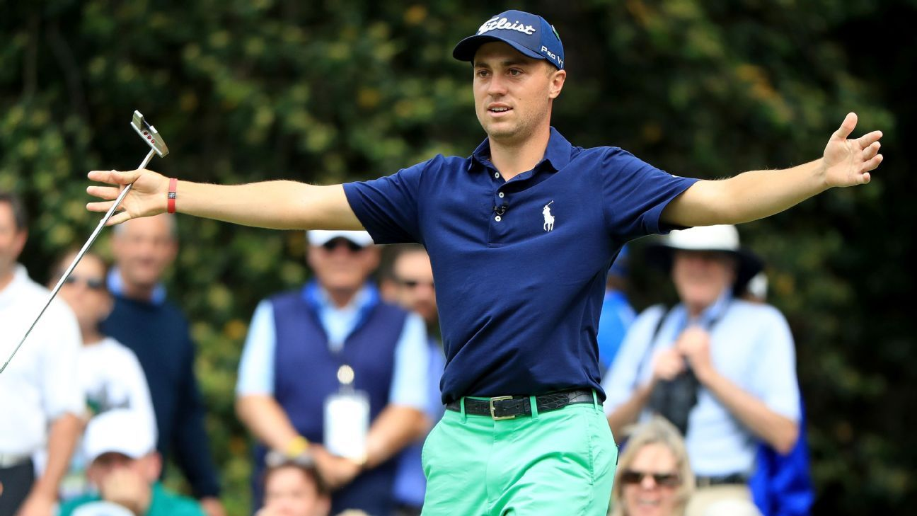 Justin Thomas:  The Only Top Five Player With A 2020 Victory
