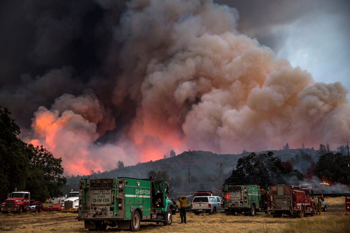 Safeway Open:  Is It Safe From California Wildfires?