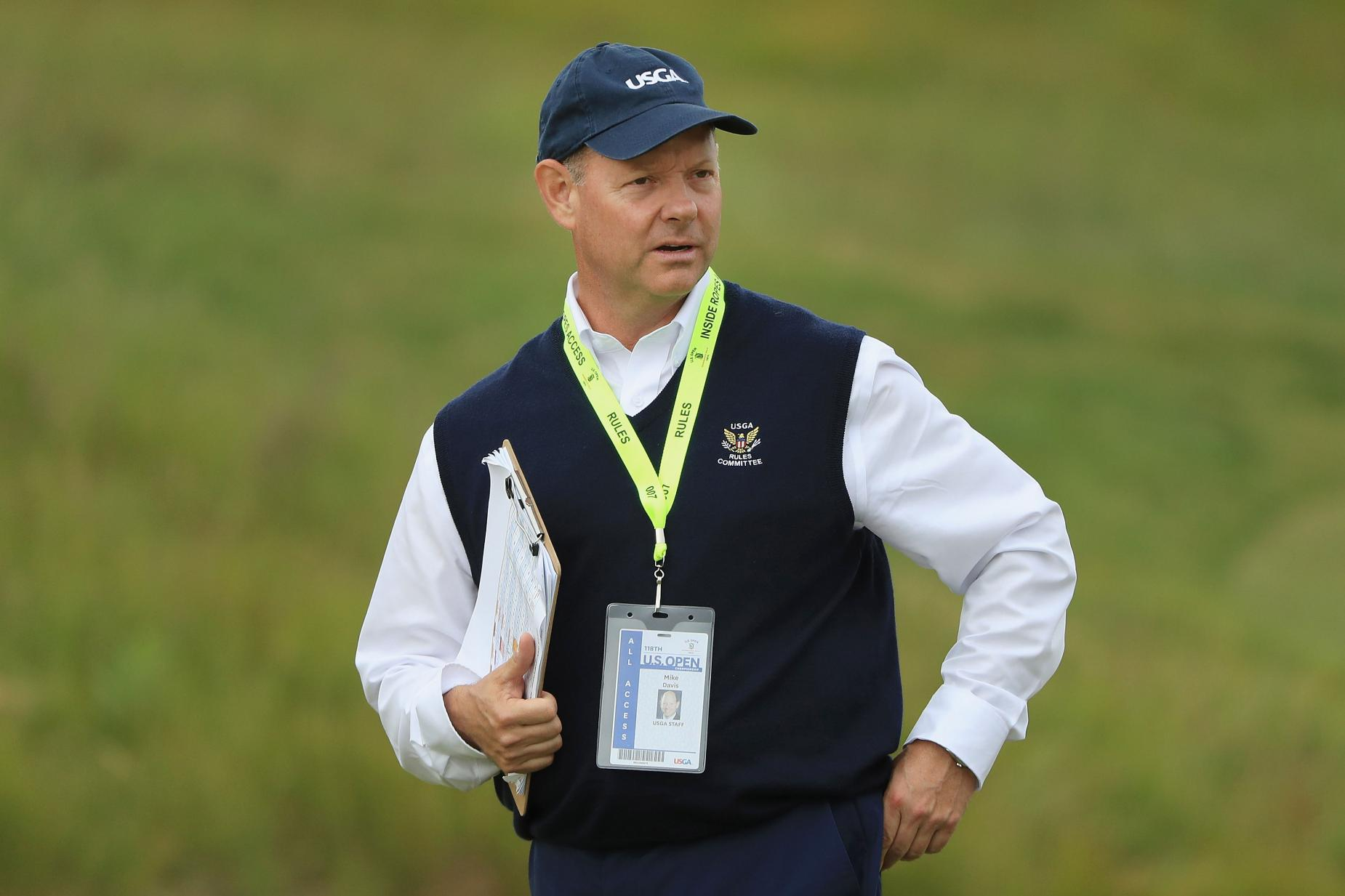 The Mike Davis Exit From The USGA Avoids The Distance Controversy