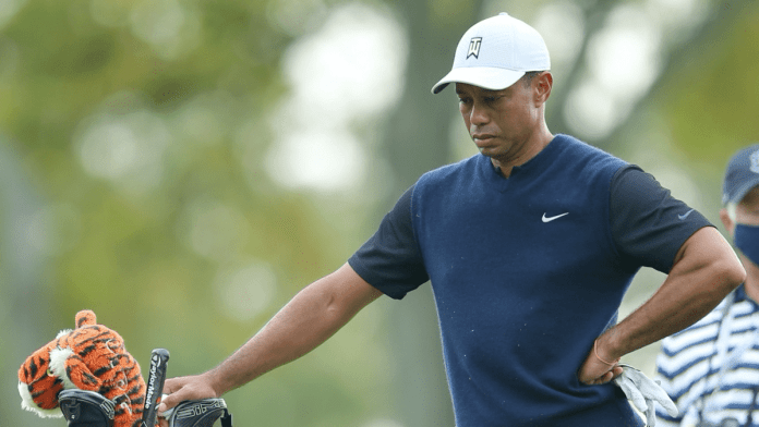 Tiger Woods Heads The Missed Cut List At Winged Foot