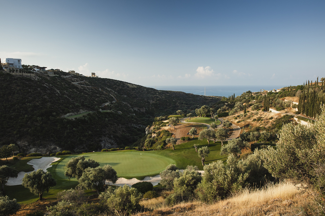 European Tour Visits Spectacular Aphrodite Hills On Cyprus