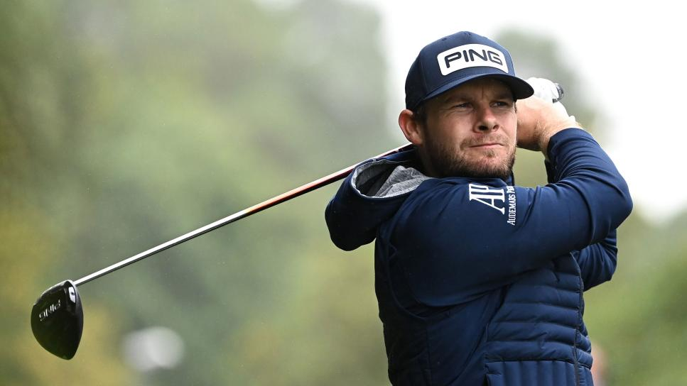 Jet Lag, A Birthday, Tossed Clubs And A 65 For Tyrrell Hatton