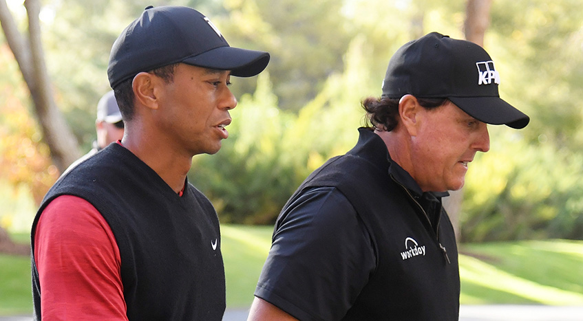 Tiger (74), Phil (78) -- A No Sunday Excitement From Golf's Two Icons