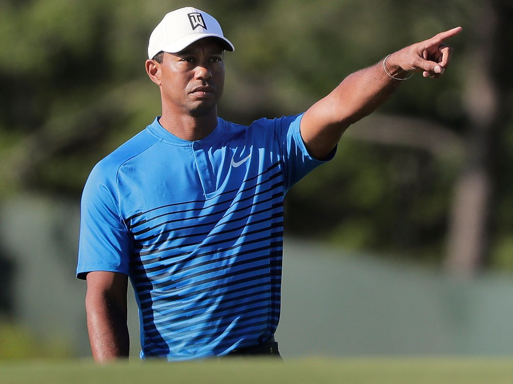 Sherwood Struggle:  Tiger Woods Flounders, Opens With 76