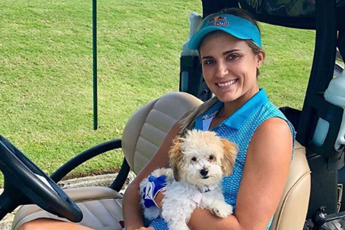 Lexi Thompson And Leo Can