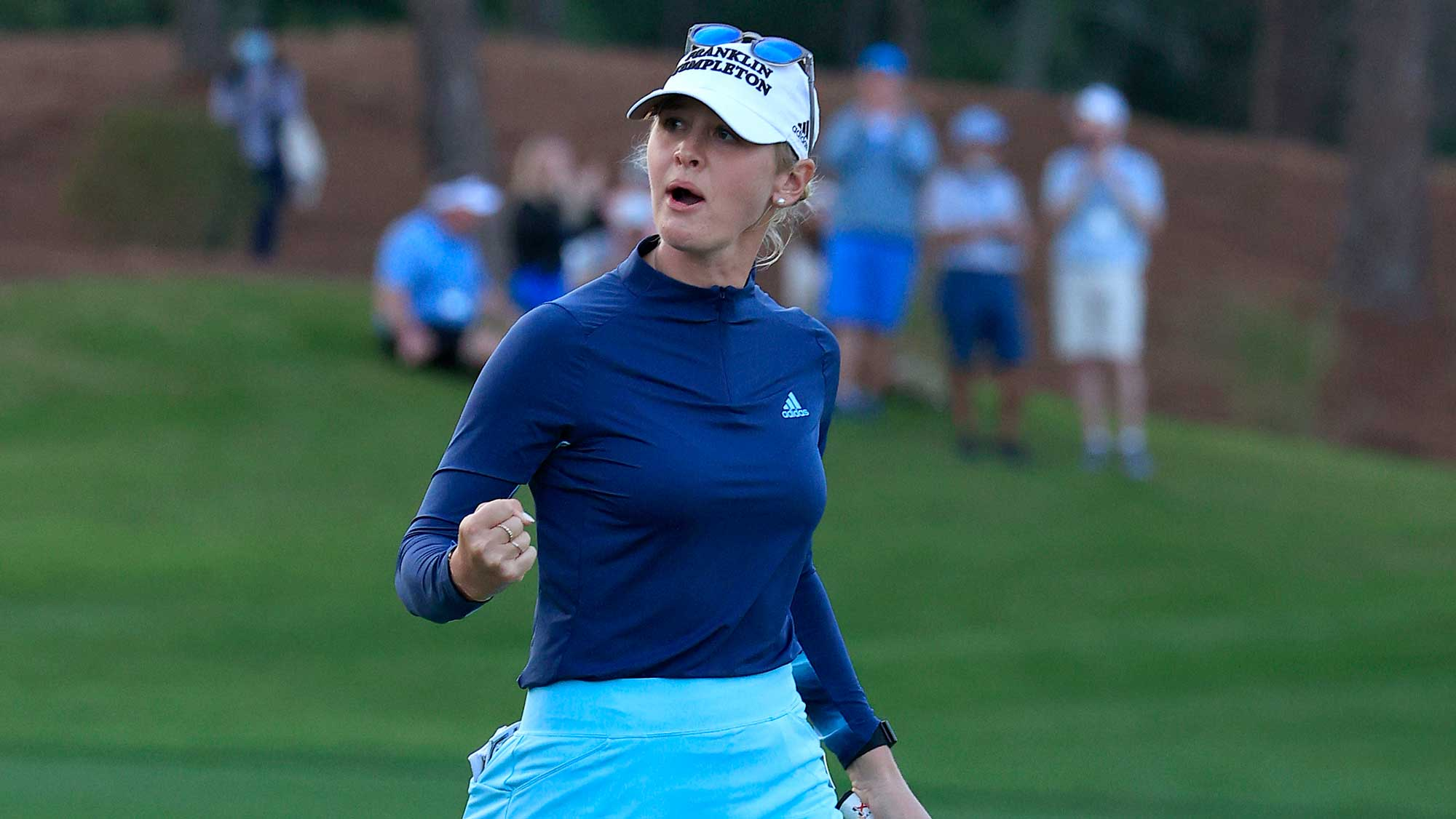 A Jolt From Jessica:  Korda Upends Kang In Playoff Thriller