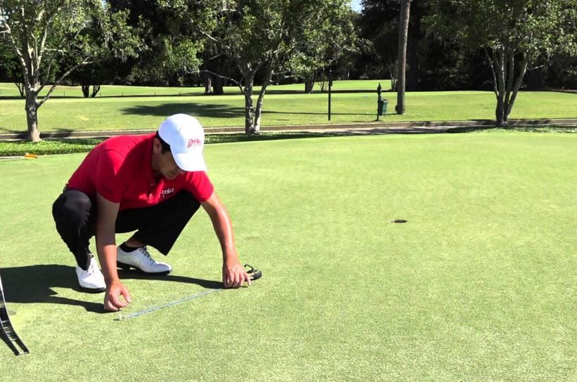 Try The Old-School Chalk-Line To Improve Your Putting