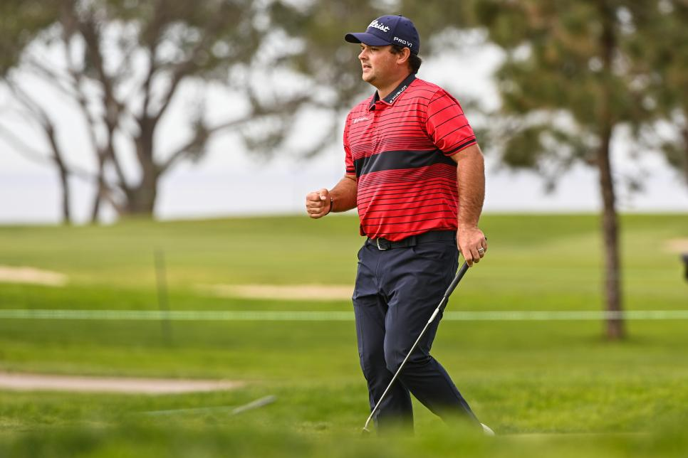 Captain Controversy (Patrick Reed) Takes The Winner's Stroll At Farmers