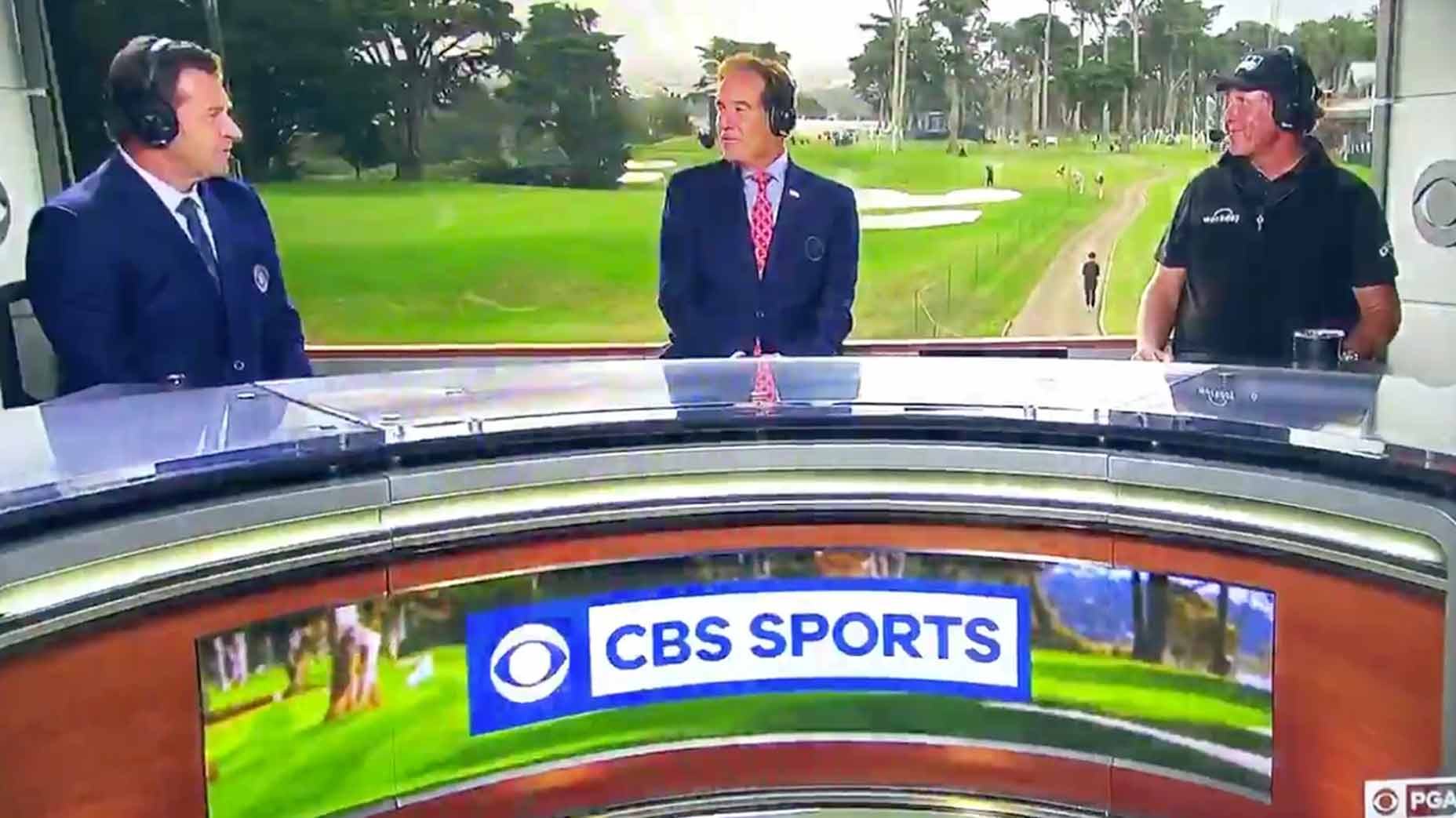 Phil Mickelson:  Future Television Broadcast Star?