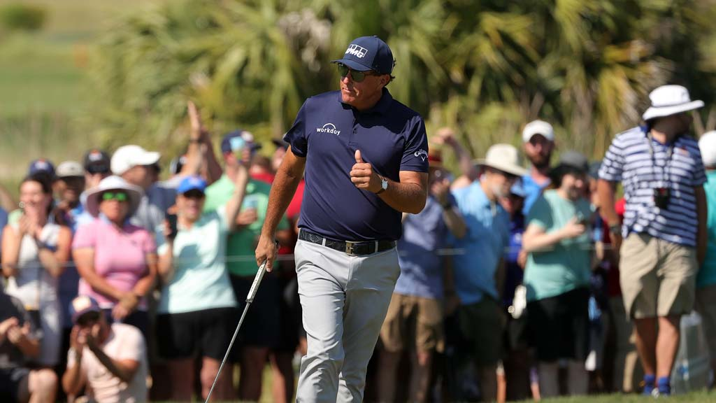 Phil Mickelson Teaches Us His Famous Flop Shot