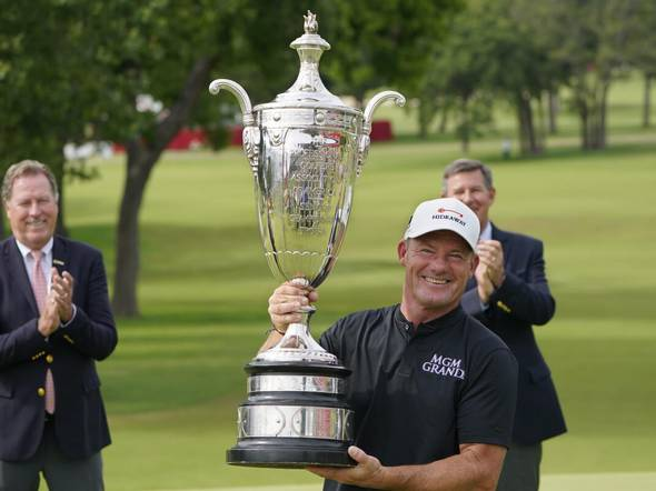 Alex Cejka Romps At Senior PGA As Others Collapse