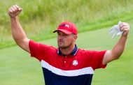 Bombs Away:  Bryson DeChambeau Steps Up In Long Drive Competition