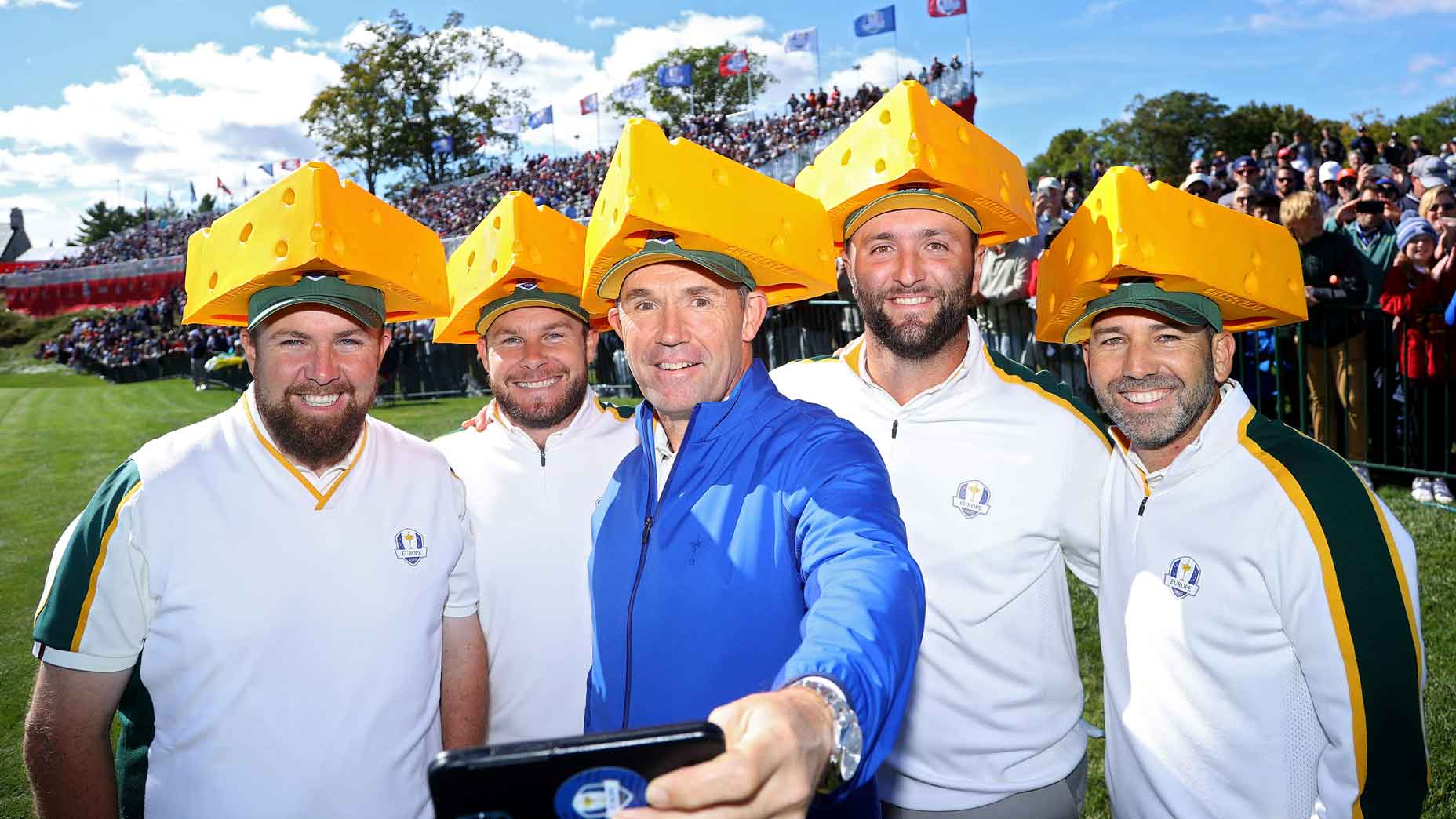 Ryder Cup Diplomacy:  Team Europe Charms Wisconsinites