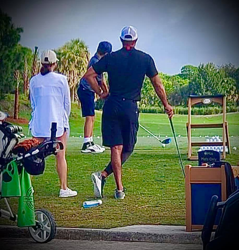 Tiger Woods Is Out And About -- And He's Walking Unaided